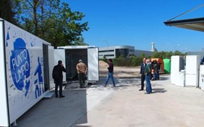 Elguea Construcciones finaliza la adecuación del Punto Limpio Fijo de Logroño