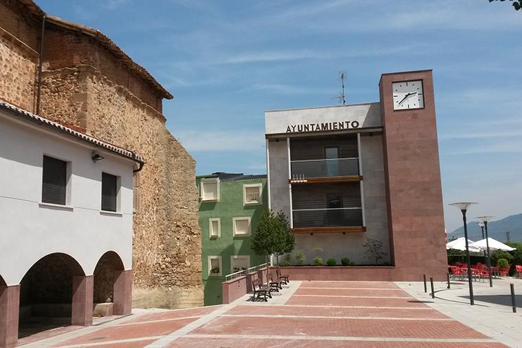 Reforma del Ayuntamiento de Sorzano y su entorno