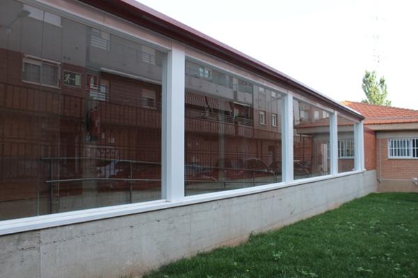 Elguea Construcciones realiza la obra de conexión de los dos edificios del Centro de Salud de Lardero