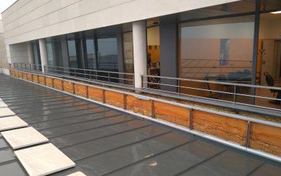 Elguea Construcciones finaliza la reparación de la fachada del Hogar de personas mayores de Calahorra